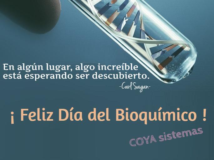¡Feliz Día del Bioquímico!
