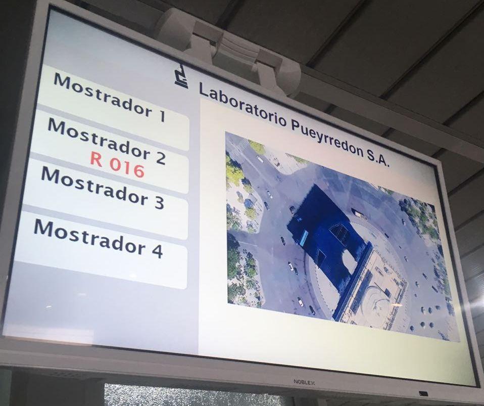 Actualización y puesto de Autogestión en Laboratorio Pueyrredon