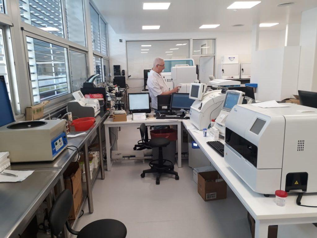Mudanza del Laboratorio del Hospital Iturraspe